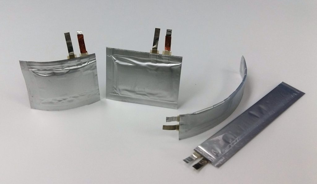 Bendable and Twistable Thin Film Batteries