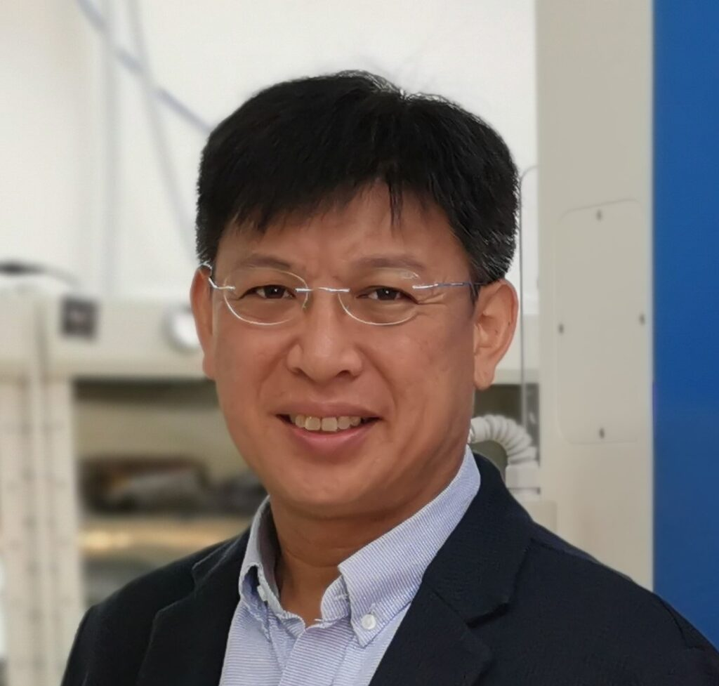 David Yeung, one of our wearable flexible battery co-founders